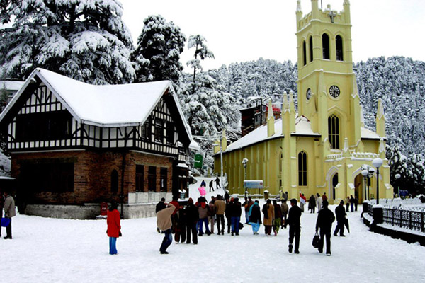 Shimla by Volvo